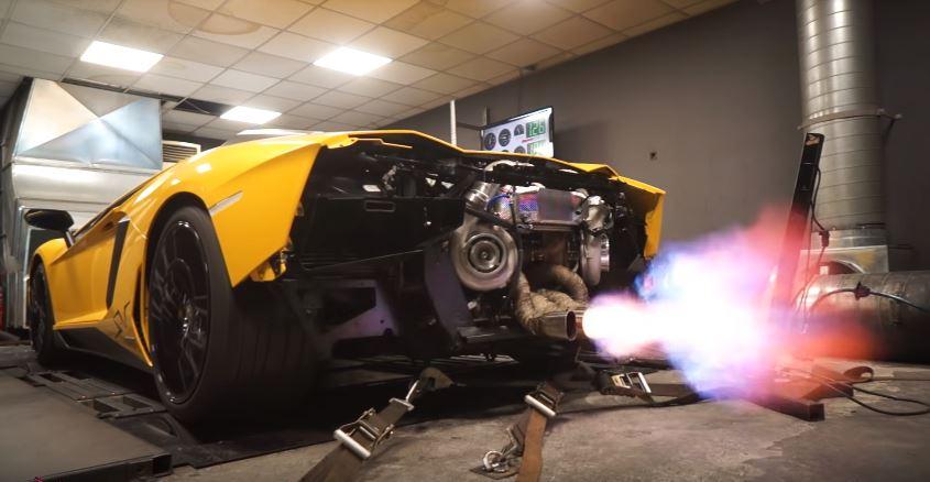 Twin Turbo Aventador SV