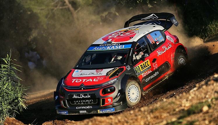 WRC 2018 - Loeb wint Rally Spanje