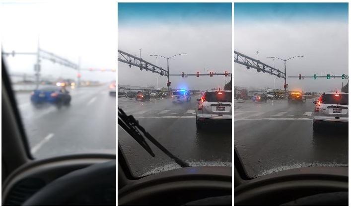 18-jarige bestuurder krijgt 19 politieauto's achter zich aan
