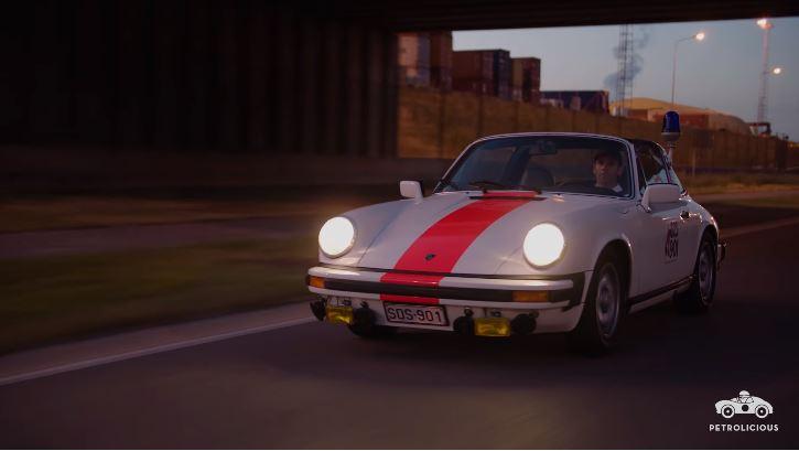 1976 Porsche 911 Targa Politie