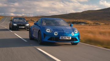 Alpine A110 vs BMW M2 Competition