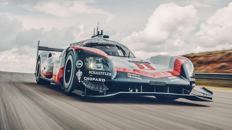 Chris Harris test Porsche 919 LMP1 Hybrid