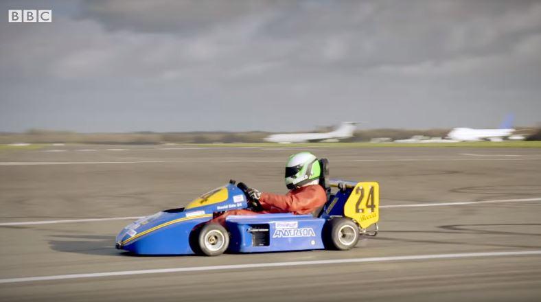 Chris Harris test Superkart