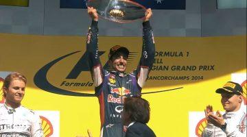 Daniel Ricciardo's Red Bull Racing Highlights