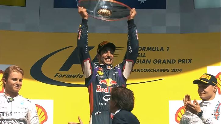 Daniel Ricciardo's Red Bull Racing Highlights