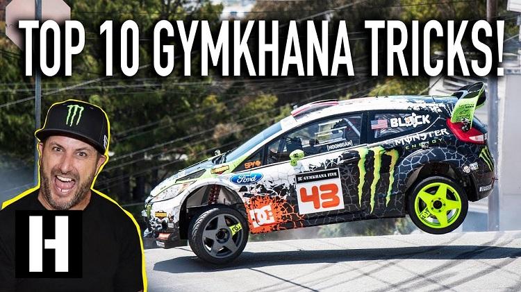 De 10 meest waanzinnige Gymkhana-stunts volgens Ken Block