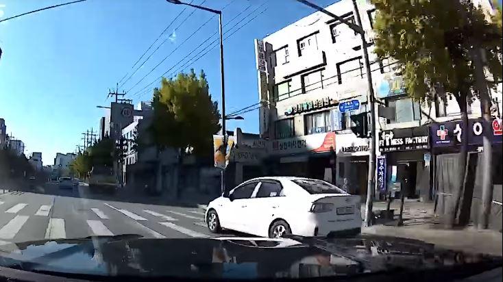 Ford Mustang Crasht na straatrace