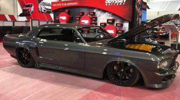 Ford Mustang met Twin Turbo Ferrari-motor