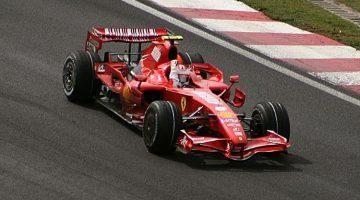 Formule 1 2007 Raikkonen Brazil