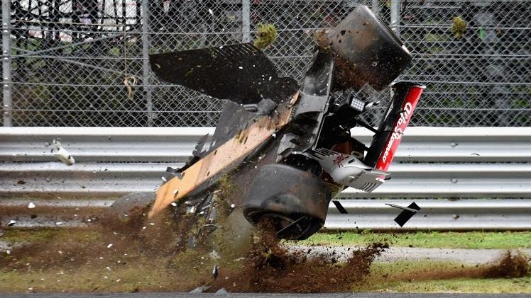 Formule 1 2018 crash compilatie