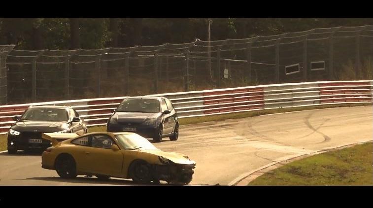Het verhaal achter een 246 kmh Porsche GT3 crash op de Nordschleife