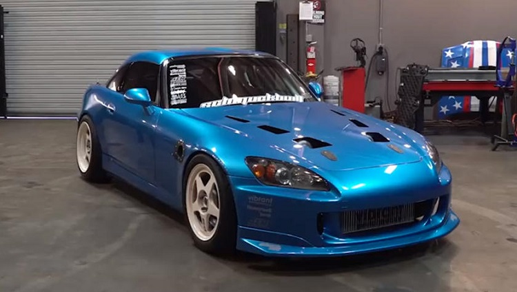 Honda S2000 Twin Turbo V6