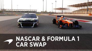 Jimmie Johnson en Fernando Alonso wisselen van raceauto
