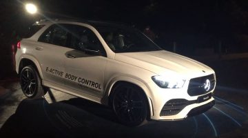 Mercedes-Benz GLE E-Active Body Control