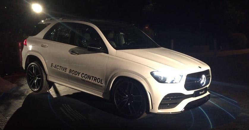 Mercedes-Benz GLE E-Active Body Control