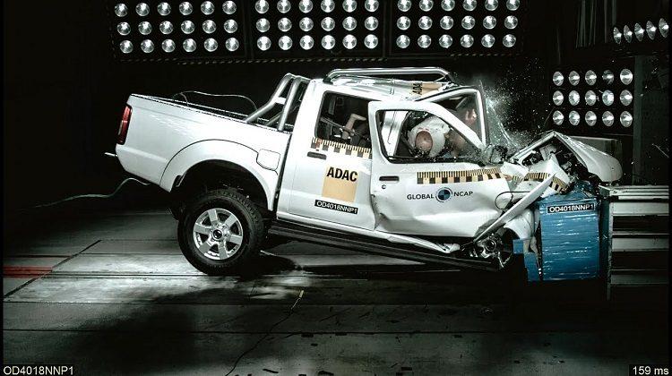 Nissan NP300 Hardbody krijgt 0 sterren van NCAP