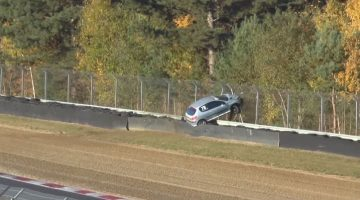 Peugeot 206 GTi Crash Zolder