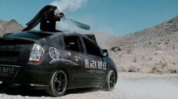 Prius met F16 Gatling Gun
