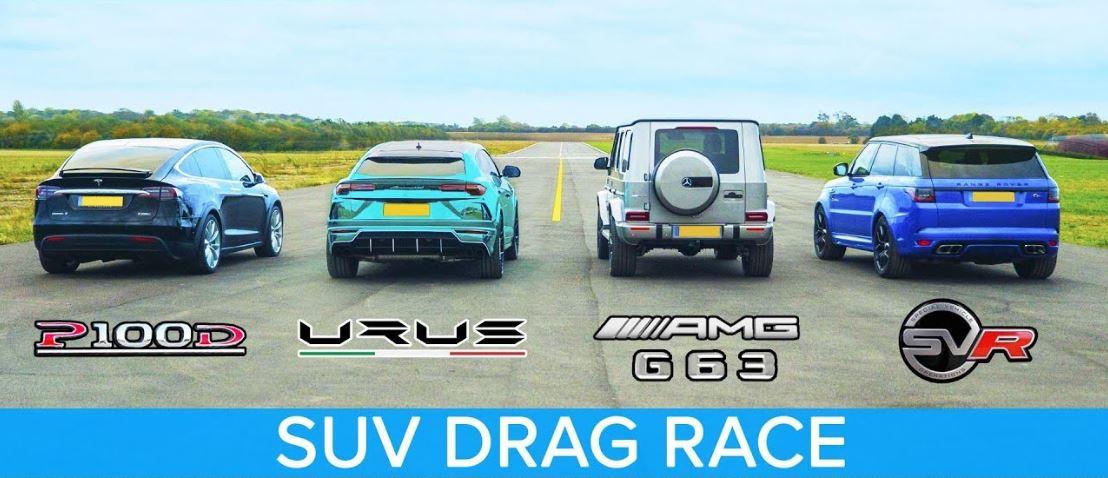 SUV Dragrace