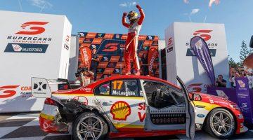 Scott McLaughlin wint V8 Supercars Championship