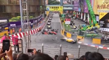 Sophia Flörsch beleeft horrorcrash in Macau