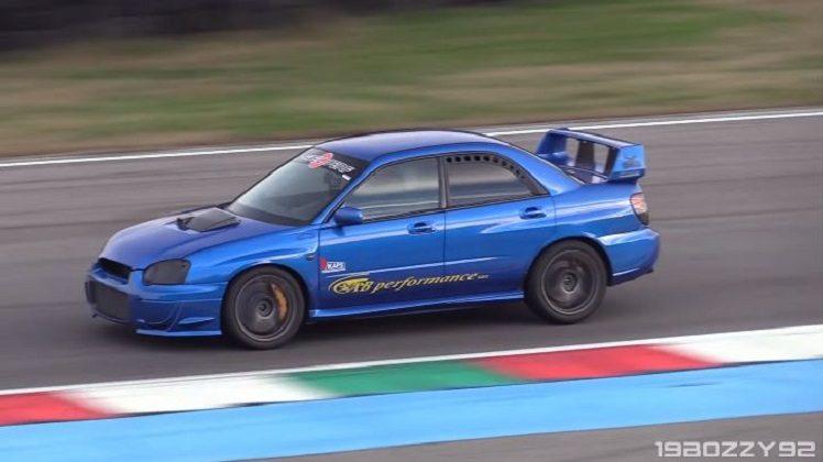 Subaru Impreza WRX STi met sequentiële bak