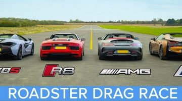 Supercar Roadster Dragrace