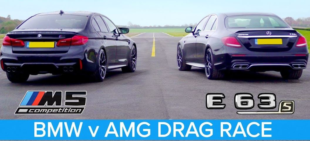 BMW M5 Competition vs Mercedes-AMG E63 S