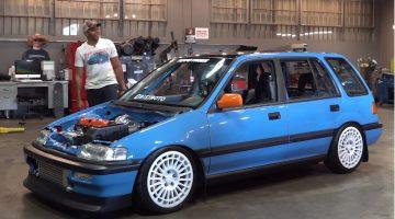 Bisimoto Honda Civic Wagon