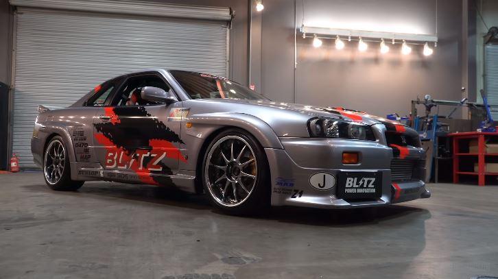 Blitz R34 Skyline GT-R