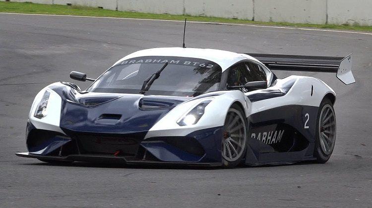 Brabham BT62 maakt een hels geluid