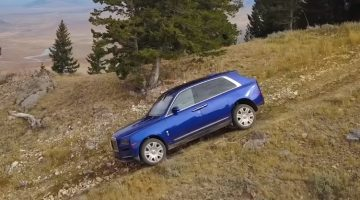 Chris Harris test Rolls-Royce Cullinan