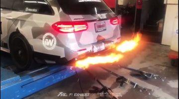 Fi Exhaust laat Mercedes-AMG E63 Estate vuurspuwen
