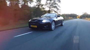Klokje Rond - Jaguar XK 4.2 V8 Cabrio