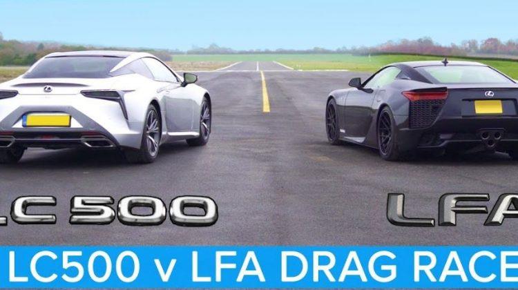 Lexus LFA vs Lexus LC500