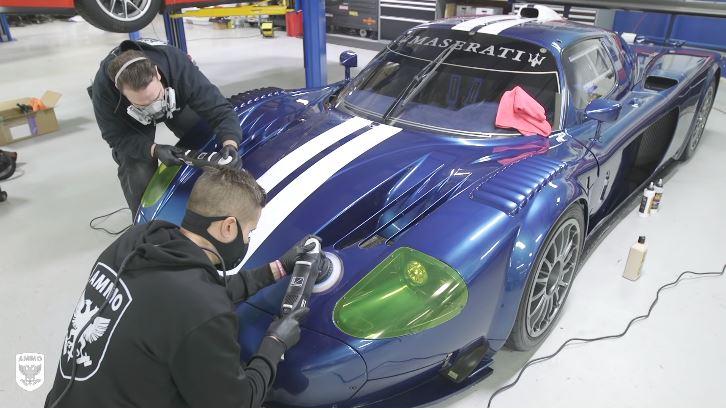 Maserati MC12 Corsa krijgt speciale lakbehandeling