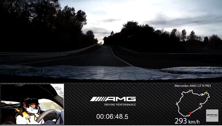 Mercedes-AMG GT R PRO Nordschleife Lap