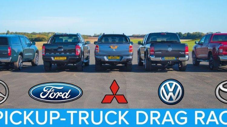 Pickup truck dragrace