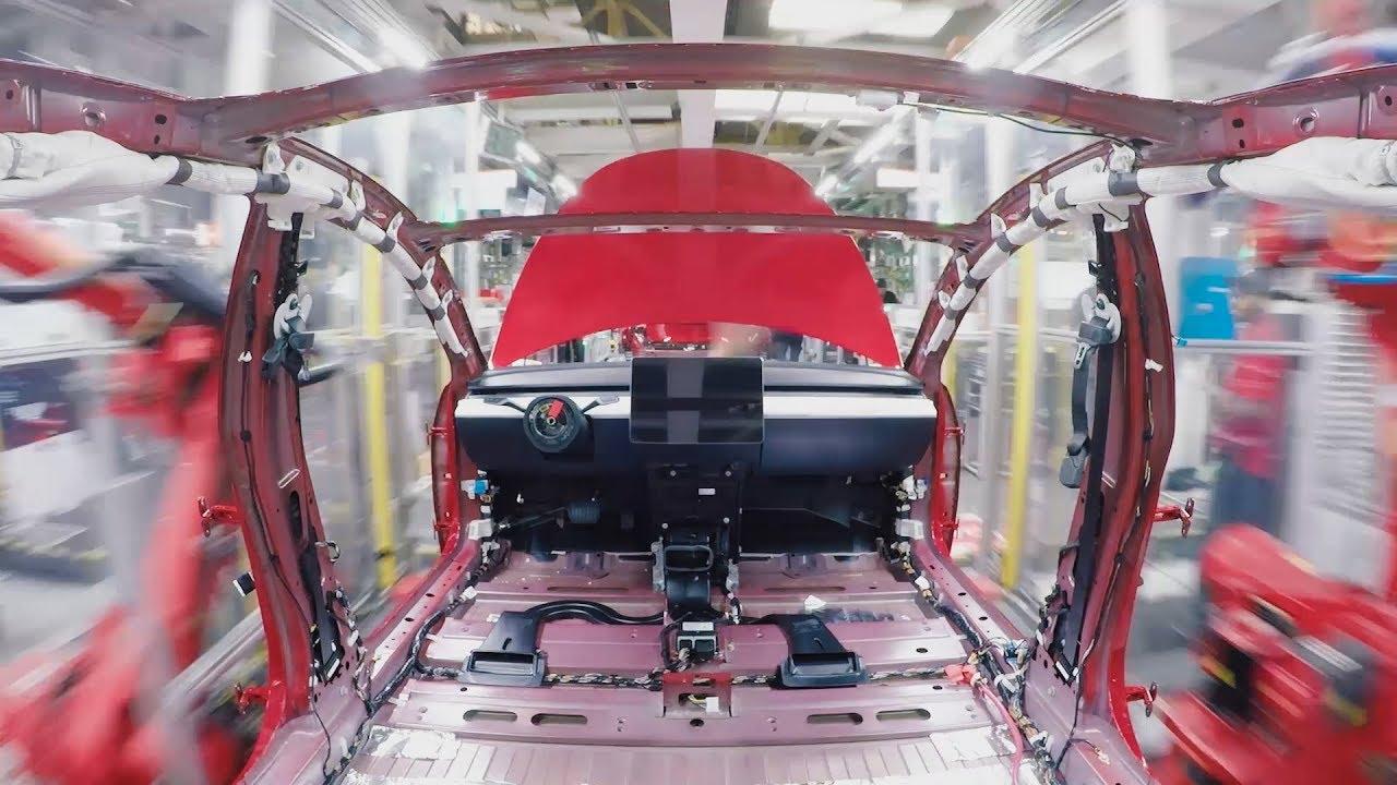 Tesla Model 3 Timelaps