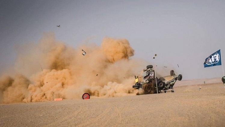 Africa Eco Race Crash