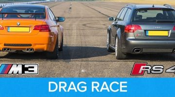 BMW E92 M3 GTS vs Audi RS4 B7