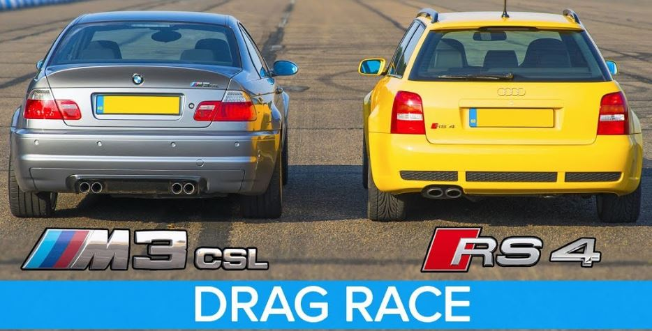BMW M3 CSL vs Audi RS4 B5