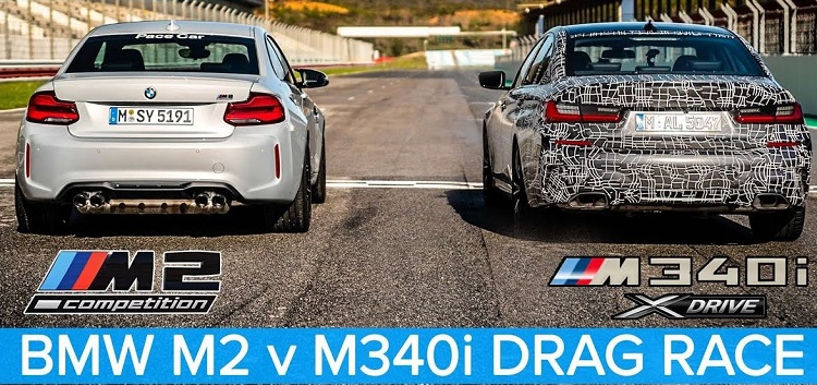BMW M340i xDrive vs BMW M2 Competition