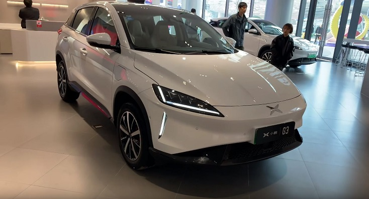 Chinese Xpeng G3