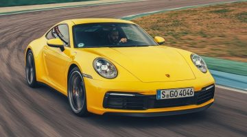 Chris Harris Test Porsche 992
