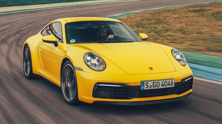 Chris Harris Test Porsche 992