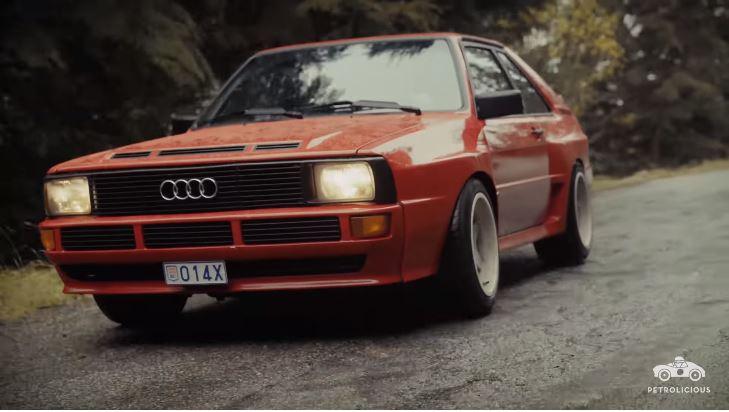 De Audi Sport Quattro van Andre Lotterer