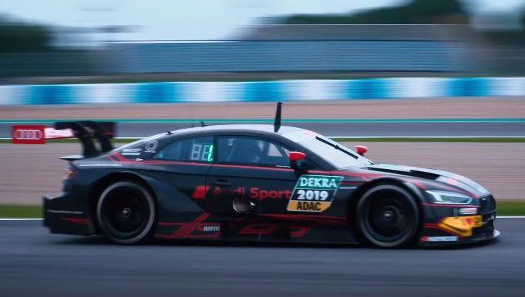 De nieuwe turbomotor in de Audi RS5 DTM