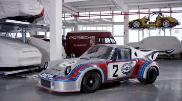 De vijf luidste Porsches