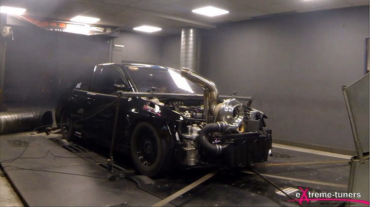 Extreme tuners Mitsubishi Lancer Evo 9 Dyno